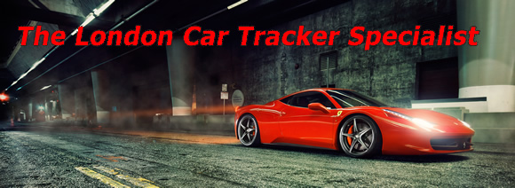 Car trackers installed in london