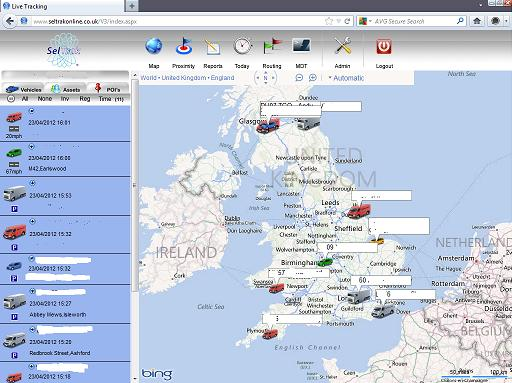 Fleet Tracking System-web based